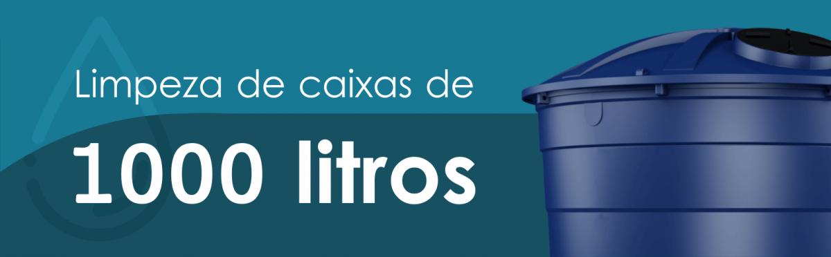 Imagem de Limpeza de caixas de 1.000 litros